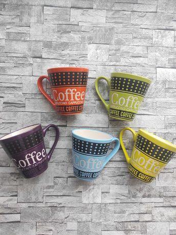 Яркие  чашки для кофе