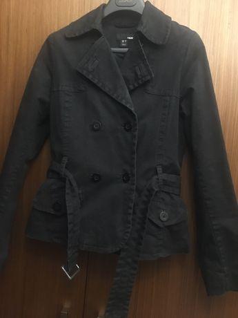 Czarna kurteczka na wiosne F-my H&M