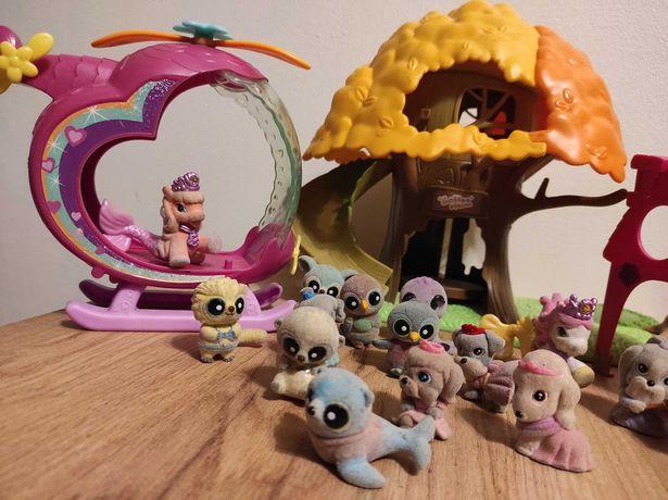 Domek yoohoo ,figurki ,helikopter , wysyłka gratis