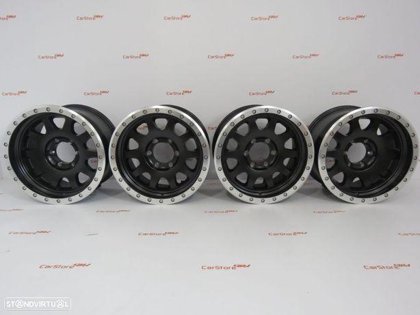 Jantes Aluminio 4x4 17 x 9 et0  6x139.7 Look Beadlock