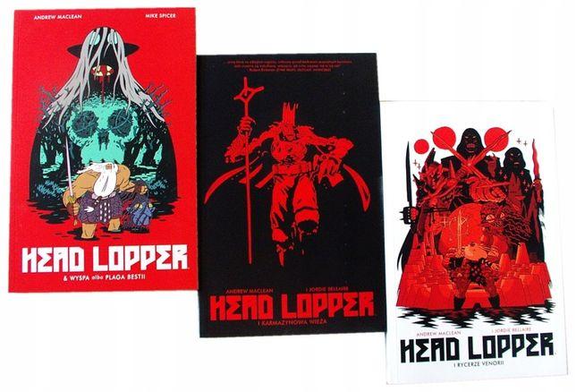 HEAD LOPPER 3 tomy - Maclean, Spicer