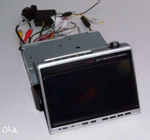 Cid700m - 7 pol. indash vga touchscreen usb-radio