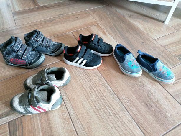 Buty chłopięce adidasy tenisówki półbuty cool Club adidas r. 24