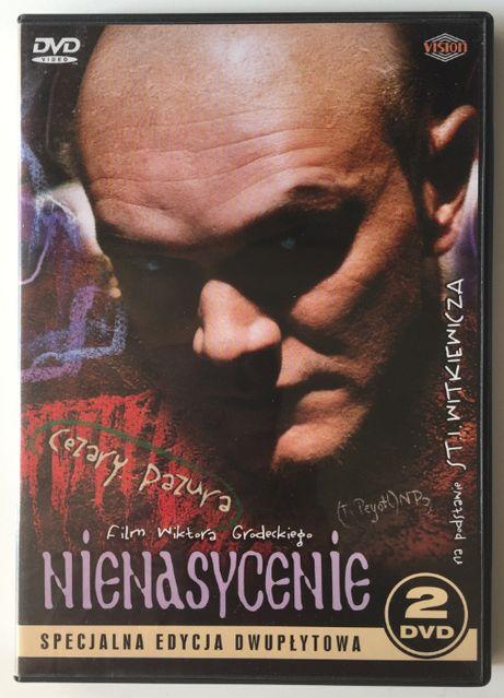 DVD Nienasycenie Specjalna Edycja dwupłytowa Pazura UNIKAT