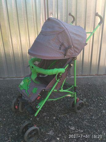 Детская прогулочная коляска трость Geoby