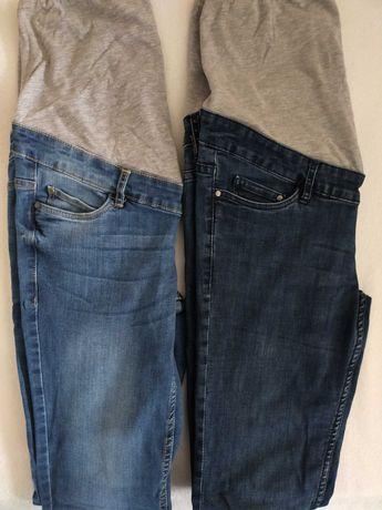 Spodnie ciążowe jeansy, Esmara r. 36 j.nowe 2 pary