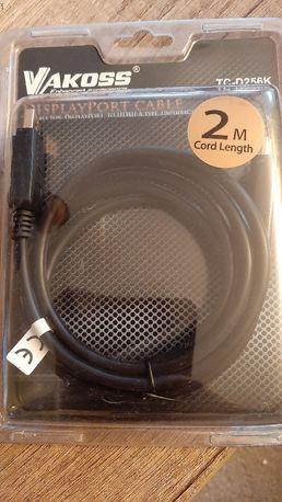 Kabel DisplayPort M-HDMI M 2m TC-D256K