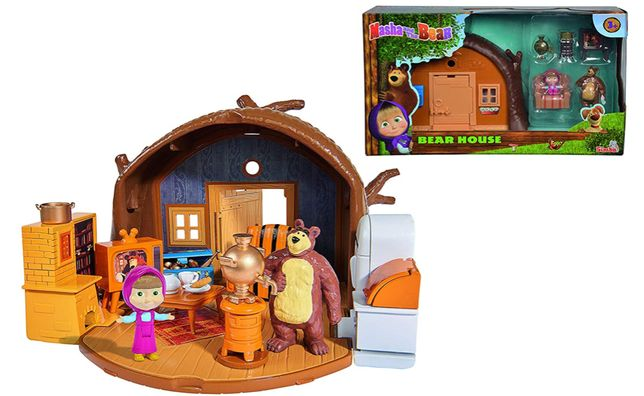 Masha e o urso (casa). Novo e selado, canal panda