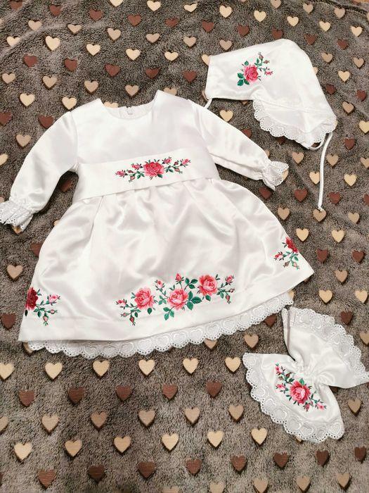 Śliczna sukieneczka do chrztu Lubin - image 1