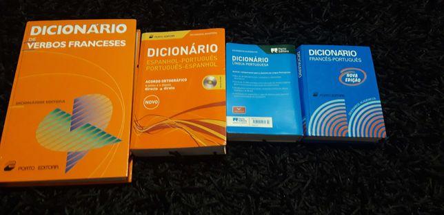 Pack dicionários vendidos individualmente ou em grupo, como preferir