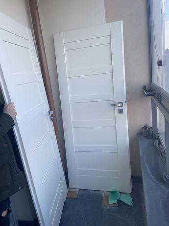 Drzwi prawe pokojowe oraz łazienkowe Erkado rozmiar 80