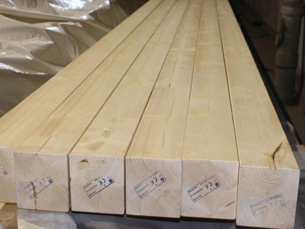 Belka 160x160, długość 6,5 metra, suszona i strugana, Mikołów, śląskie