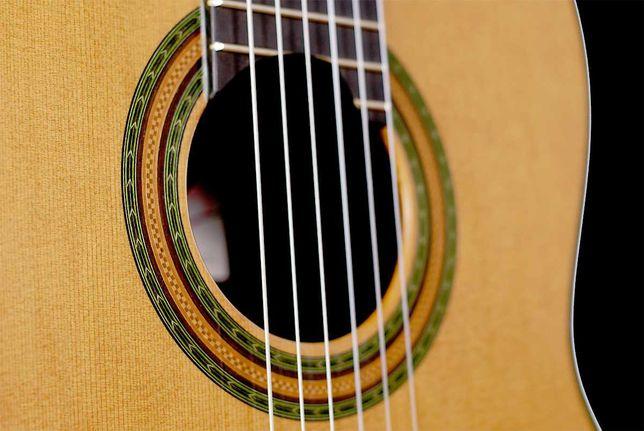 """Amalio Burguet """"lattice"""" gitara klasyczna koncertowa"""