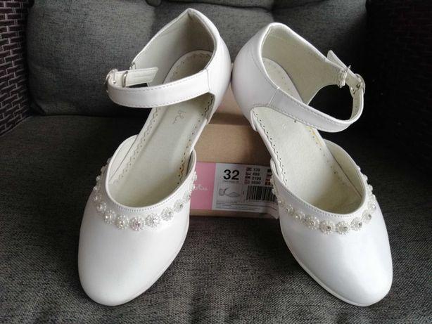 Buty komunijne dziewczęce dla dziewczynki rozmiar 32