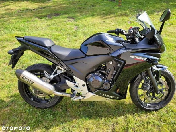 Honda CBR Honda CBR500R ABS GRIPY OGRZ. 8500km przebiegu