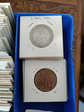 Antiguidades conjunto de moedas