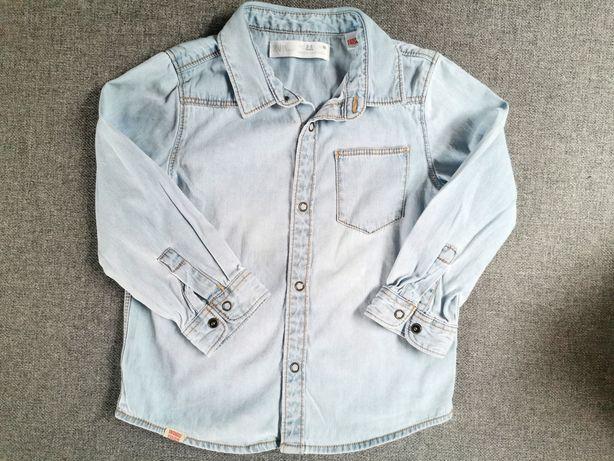 Koszula jeansowa 98 uniwersalna