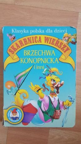 Książka Skarbnica Wierszy Brzechwa Konopnicka i inni