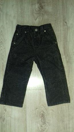 Spodnie sztruksowe dla chłopca