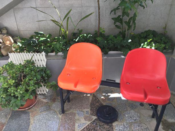 Banco assentos de estádio desmontável: casa, terraço, camping, jardim.