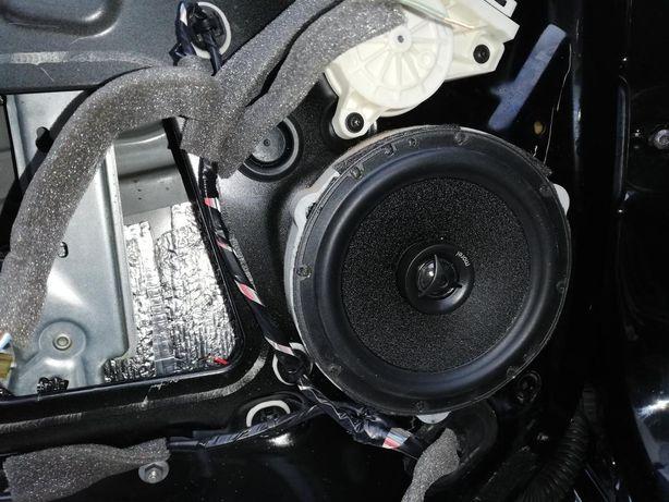 Подиумы Renault Megane 3 130-165 мм. Проставки под динамики Рено Меган