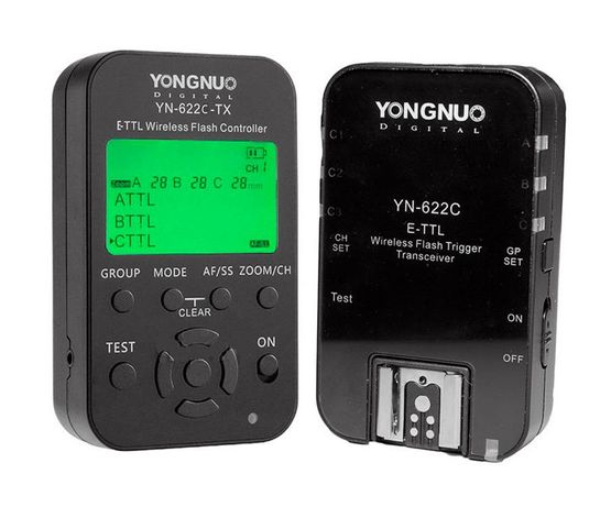 Набор синхронизации Yongnuo YN622C-Kit для Canon YN622N-Kit для Nikon