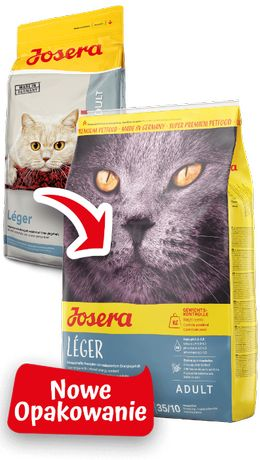 JOSERA Léger 10 kg - dla kotów z nadwagą