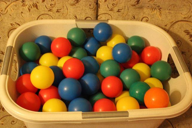 Kolorowe piłeczki plastikowe średnica 8 cm