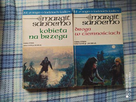 Saga o ludziach lodu Margit Sandemo tom 34, 35