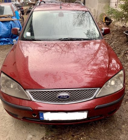 Ford Mondeo mk3 2.0tdci 2004r na czesci Deep Rosso Red Metalik