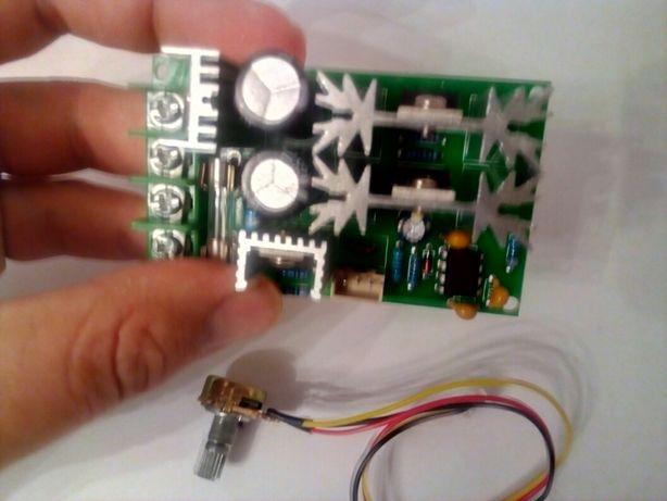 ШИМ контроллер регулятор 10-60В 20А двигателя постоянного тока 25кГц