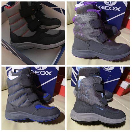 Зимние ботинки Geox New Alaska Оригинал c 28 по 35