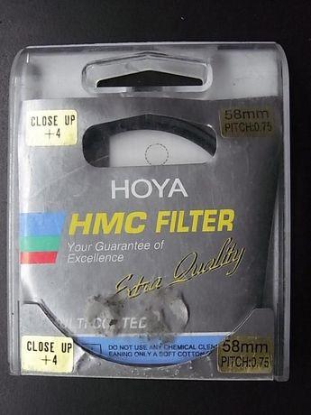 filtro 58mm close up 4+ hoya