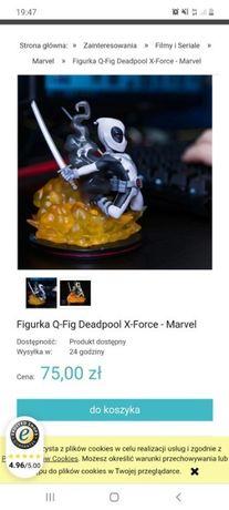 Figurka Q-Fig Deadpool X-Force Marvel