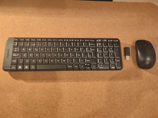 Teclado + rato Logitech MK220