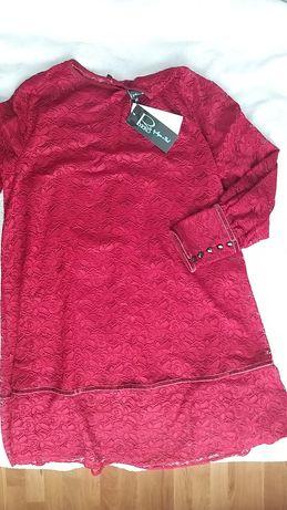 Sukienka koronkowa trapez r. 42 nowa