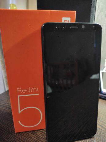 Продам телефон Xiaomi Redmi 5 black