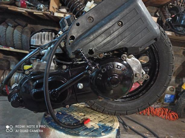 Двигатель Honda Хонда Дио 18-27. Такт. Читайте внимательно описание