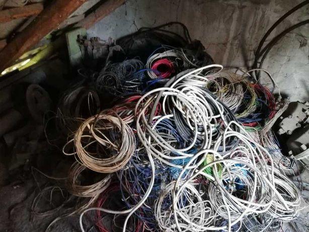 Kabel przewód drut  elektryczny  różne  rodzaje