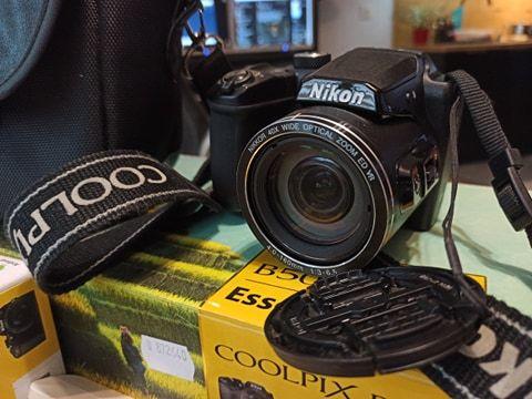 Aparat Nikon COOLPIX B500 idealny stan + akcesoria