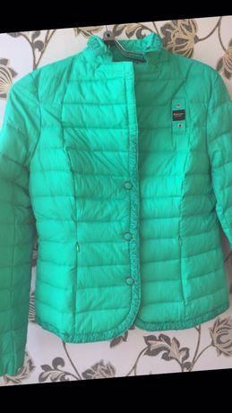 Blauer дорогой бренд оригинал новый пуховик пуховая куртка стеганка