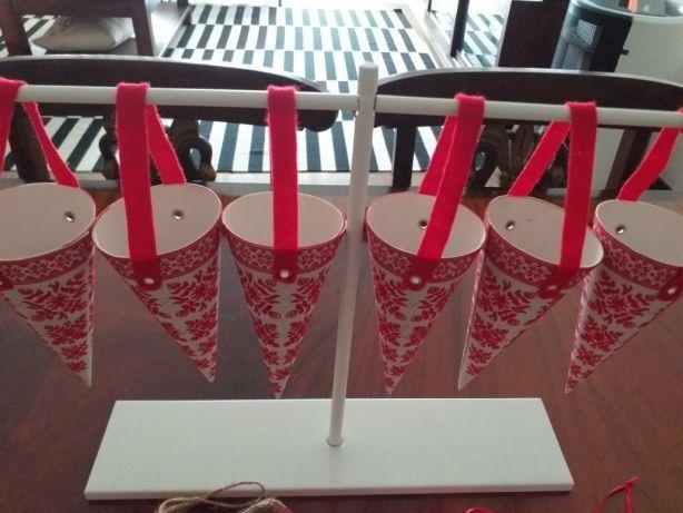 19 peças de Natal ikea
