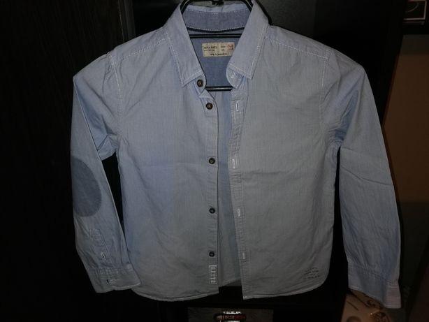ZARA elegancka koszula chłopięca 122