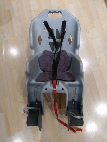 Krzesełko/fotelik rowerowy dla dziecka na bagażnik