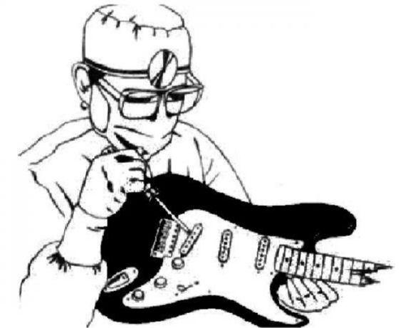 Настройка гитар,доводка,ремонт: укулеле,электрогитар,барабанов