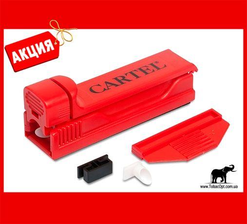 Машинка Kartel для самокруток | Набивачка сигаретных гильз ручная !