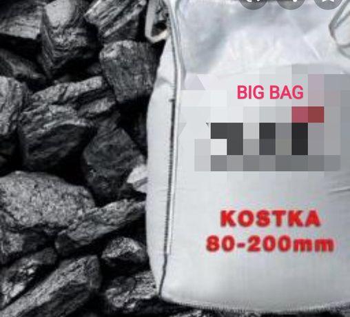 Węgiel Gruby Kostka Big Bag 24/26MJ