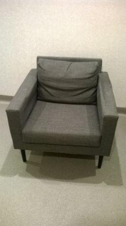 Fotel FRIHETEN IKEA- MARKUS-skóra-- krzesła --leżanka/szezlong