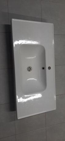 Umywalka ceramiczna łazienka Ikea 102 cm x 49 cm