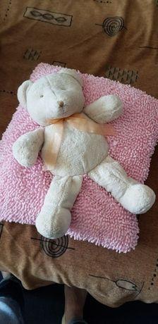 Мягкая подушка, мягкая игрушка, мишка